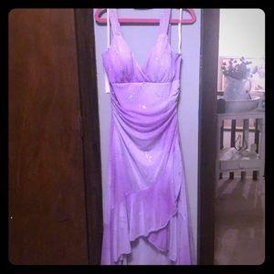Juniors lilac dress size M